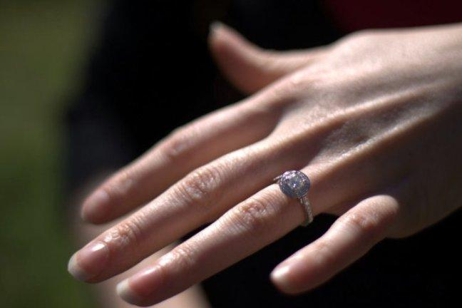 Lenzi Engagement Ring Shot