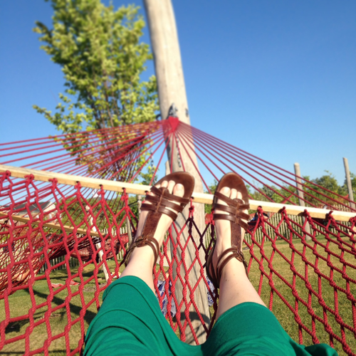 Hammock Grove bliss.