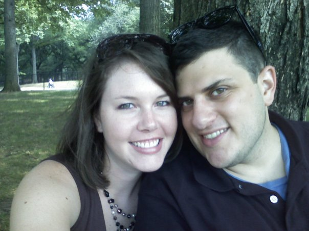 The first time we dated, summer 2008