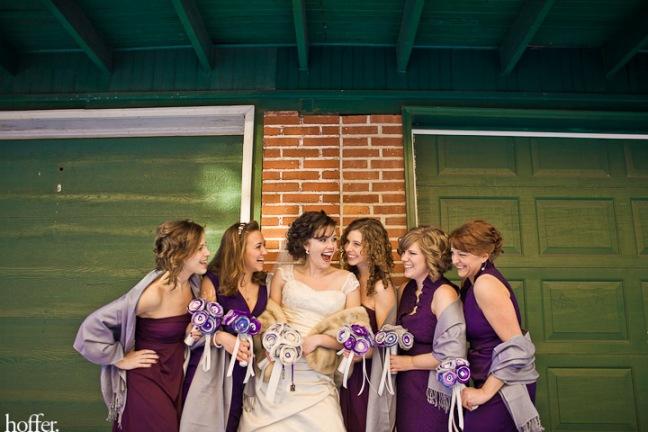 Erika-Lenzi-wedding-mismatched-bridesmaids-downtown-lancaster