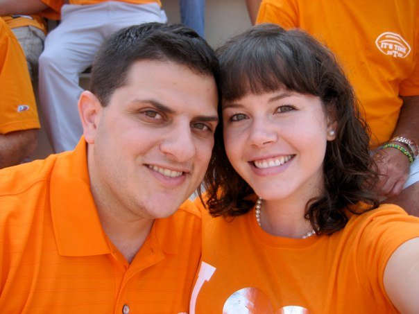 Cheering for the Vols, Sept 2009