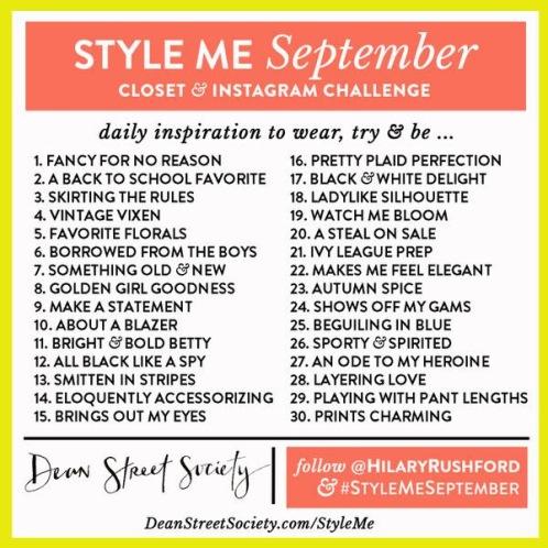style me september