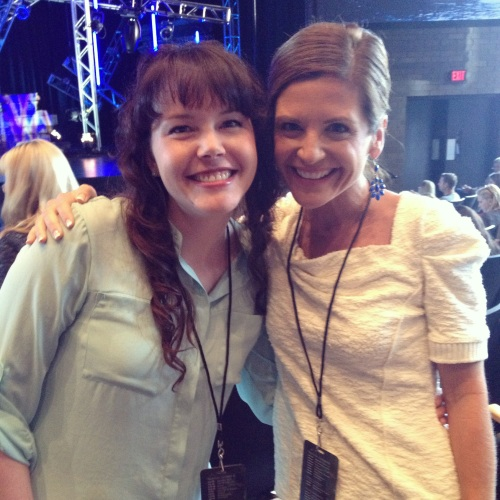 Me and Glennon Melton of Momastery, one of my favorite blogs.